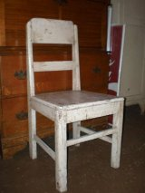 SHABBY WOOD CHAIR