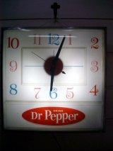 Dr Pepperクロックライト