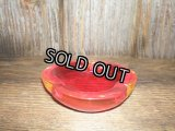 50'sガラスASH TRAY(RED)